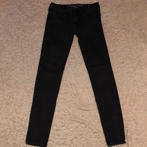 American Eagle Black Jeggings Jeans Size 0
